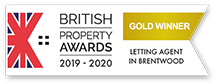 Gold Winner logo Letting agent