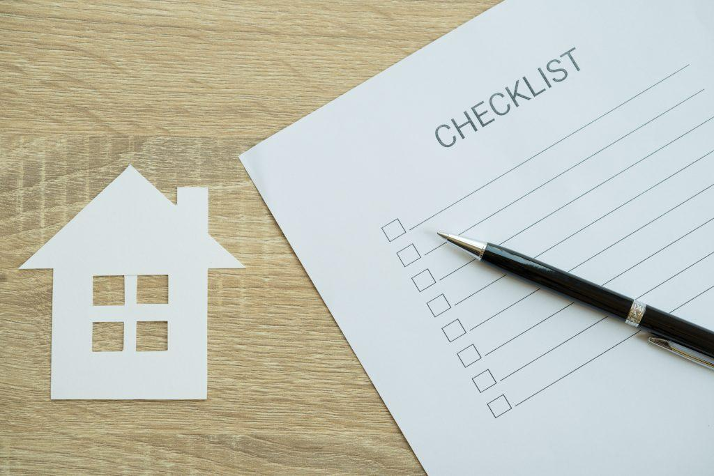 Selling buying home checklist